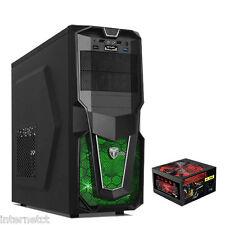 AvP STORM 28 Juegos PC Computadora Tower Case - 650W PSU Fuente De Alimentación-Led Verde