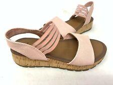 NEW! Skechers Women's FOOTSTEPS MARKERS Slide Sandals Lite Pink #31700 185M tz