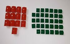 2008 Monopoly Replacement Pieces Houses & Hotels