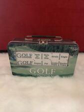 New Golf Dominoes Double Six Set In Original Plastic Wrapper