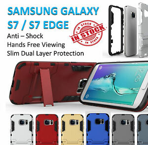 Samsung S7 Case S7 Edge Cover Hard Kickstand Armor Shockproof Tradesman Galaxy
