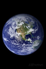 Planet Earth from Space (North America) Photo Poster Poster Print, 13x19