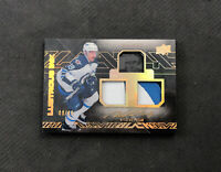 2015-16 UPPER DECK BLACK NICOLAS PETAN ROOKIE DUAL PATCH AUTO GOLD #ed 9/49