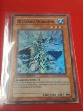 Yugioh BLIZZARD WARRIOR LIMITED EDITION FOIL CARD HA01-EN002