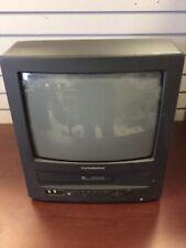 "Curtis Mathes CRT 13"" TV Retro Gaming VCR Player Combo CMC13101 READ DESCRIPTION"