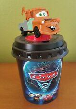 Rare Disney Pixar Movie Cars 2 w/ Mater Reuseable Platic Cup Prototype