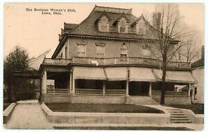 Postcard - Lima, Ohio Business Woman's Club - Circa 1910