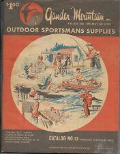 Vintage 1973 Gander Mountain Outdoor Sportsmans Supplies Catalog 136 pgs Clean