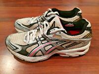 ASICS GT 2100 Women's Running Training Sneaker Shoes White Black Pink Size 9.5