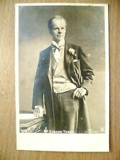 1900's USED REAL PHOTO POSTCARDS- ACTOR EDWARD TERRY