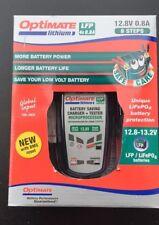 Caricabatteria Optimate Moto Batteria LITHIUM LFP 4S 0,8A Litio tm470 450157