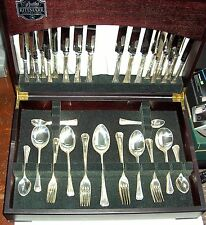 George Butler of Sheffield 53 Piece Silver plated EPNS A1 Canteen Of Cutlery