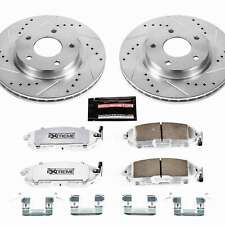 Power Stop Front Z26 Street Warrior Brake Kit for 13-18 Nissan Sentra