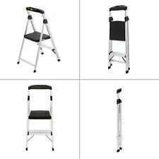 Easy Reach by Gorilla Ladders Ladder. 2-Step Aluminum Ultra-Light Step Stool Ladder with Project Top 225 lb. Capacity AS-2TG