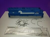 AS IS PARTS HO SCALE ATHEARN GP-50 CONRAIL LOCOMOTIVE CASING AND PARTS SEE PICS