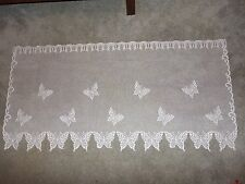 New Ivory Lace Butterfly  design Tier 62W x 30L