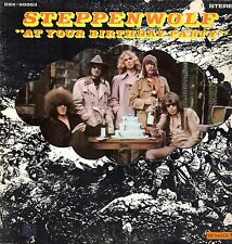 "Steppenwolf Vinyl LP Dunhill Records,1969, DSX-50053, ""At Your Birthday Party"""