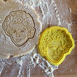 Madonna cookie cutter. Madonna Vogue style cookie stamp. Pop music star cookies.