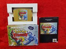 N64 POKEMON STADIUM 2 Boxed & Complete Genuine PAL UK Version
