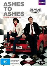 Ashes To Ashes : Series 2 (DVD, 2010, 4-Disc Set)