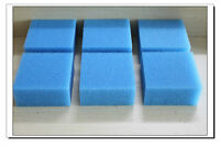 New 6 X Fine Foam Filter Pads Fish Tanks Fits Juwel Compact Lowest Price!