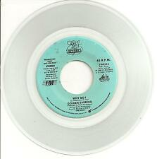 Golden Earring Why Do I USA Promo 45 W/O PS Clear Vinyl