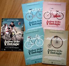 cyclisme - LOT Cartes postales série Anjou Vélo Vintage - Saumur 2014