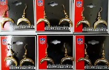 Los Angeles Chargers Hanging Earrings - Lot of 6 Pair