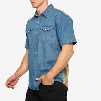 Levi's  x Justin Timberlake Blue Modern Barstow Denim Shirt Size S