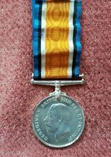 WW1 BRITISH WAR MEDAL RE