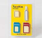 Convert Nano SIM Card to Micro Standard SIM Adapter Set for LG G2 G3 G4 gbm