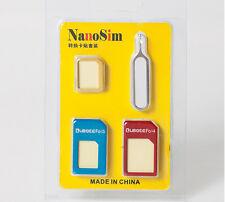 Convert Nano SIM Card to Micro Standard SIM Adapter Set for Nokia Lumia 640 XL g