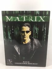 """Matrix Movie Neo Collectible Mini - Bust """"By Gentle Giant LTD""""."""