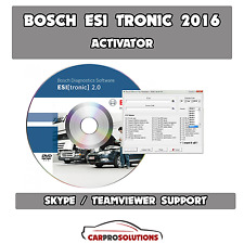 Bosch ESI [tronic] activator from 2000 to 2016/1 [SELF ACTIVATION]