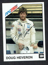 Doug Heveron #27  signed autograph auto 1983 A&S Racing PPG Indy Trading Card
