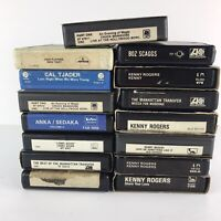 Lot of 16 Misc 8 track tapes Country Jazz Pop Rock Easy Listening Funk Soul