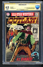 All star Western #2 FIRST APPEARANCE EL DIABLO CBCS 4.5 SS Jay Hernandez