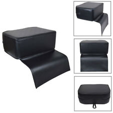 Black Barber Child Booster Seat Cushion Beauty Salon Spa Equipment Styling Chair