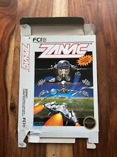 ZANAC FCI Games NES Nintendo Great Box ONLY no game or manual VERY NICE