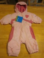 COLUMBIA Pink BABY SNOW SUIT Jacket Pants INFANT Girls 6 Months New $80 Mazzy