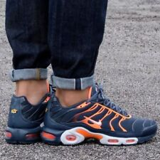 size 40 e961e 6ce83 Nike Air Max Plus Armory Navy Pure Platinum Tart 852630-403 Mens Sz 10.5