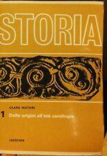 Storia Vol. 1 - Maturi - Loescher Editore,1967 - R
