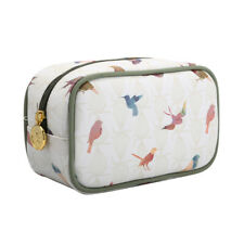 TaylorHe Make-up Pouch Toiletry Bag Pencil Case Cosmetic Case Colourful Birds