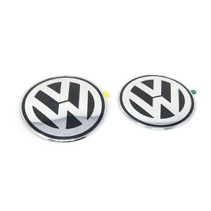 Original New Beetle VW Emblem vorn hinten Logo Zeichen Motorhaube Heckklappe
