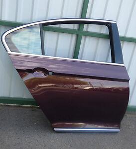 VW Passat 3G B8 HighLine Tür hinten rechts Crimson Red LD3Y ohne Delle o. kratze