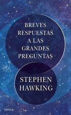 BREVES RESPUESTAS A LAS GRANDES PREGUNTAS. ENV�O URGENTE (ESPA�'A)