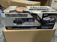 2017 William Byron Liberty University 1/24 NASCAR  AUTOGRAPHED CLEAN VERSION