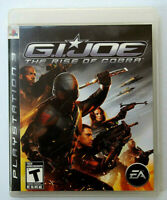 G.I. Joe: The Rise of Cobra (PlayStation 3, 2009) Complete with Manual Tested