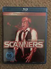 Scanners  Blu-Ray Germany Region B