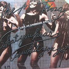 IKE & TINA TURNER Live At Carnegie Hall / What You Hear Is What You Get - 2 LP